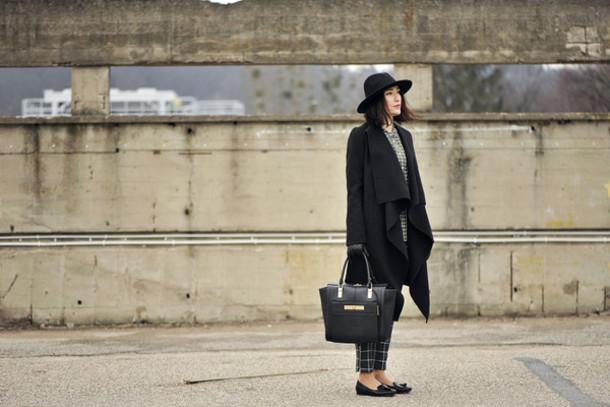 shiny sil blogger shoes hat coat bag shirt pants gloves