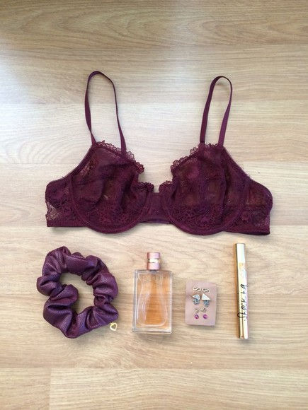 jewels chanel yves saint laurent yves saint-laurent underwear burgundy golden lace lace up perfume oysho free people yvessaintlaurent earrings mascara golden rings maroon/burgundy