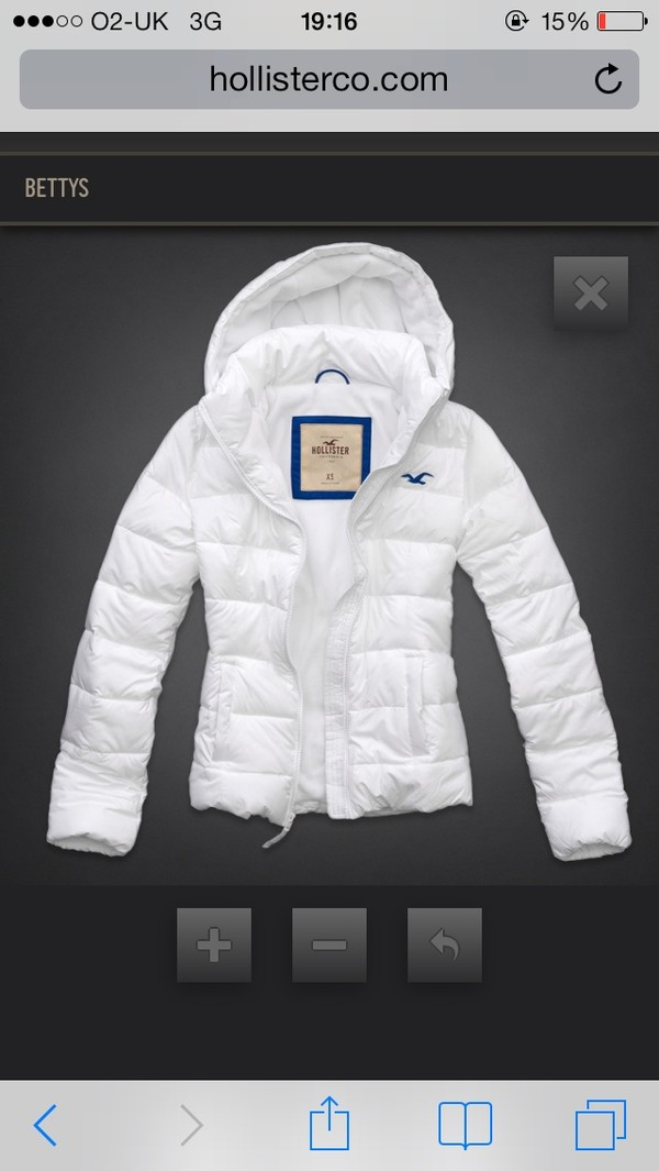 coat hollister