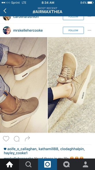 shoes nude sneakers nike shoes