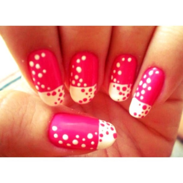 nail polish hot pink rimmel  london