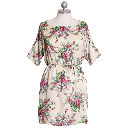 bring me flowers floral dress