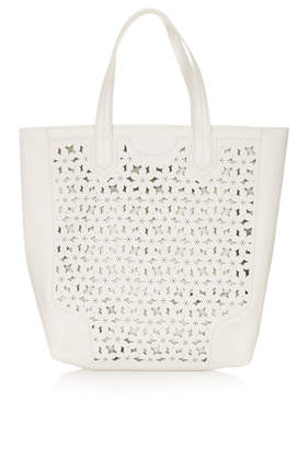 Daisy Cutwork Tote Bag - Bags & Purses  - Bags & Accessories  - Topshop