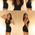 Sexy Women Black Mesh Cut Out V Neck Sleeveless Clubwear Party Mini Dress ZTX | eBay