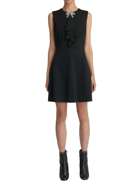 RED VALENTINO dress black dress black
