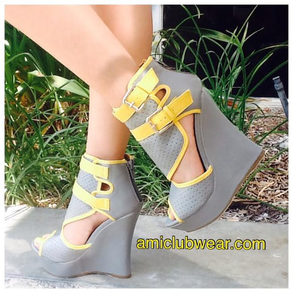 shoes wedges heels amiclubwearheel