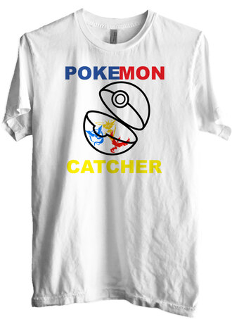 white top graphic tee pokemon quote on it pokemon clothes t-shirt teenagers teen wolf 5sos tees