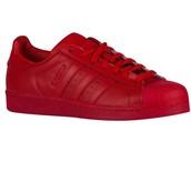 shoes,red,adidas originals,adidas shoes,adidas superstars,adidas shell toe,adidas men,adidas,shell toe,mens shoes,adidas 3 stripes