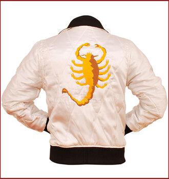 jacket satin jacket clothes apparel ryan gosling satin bomber