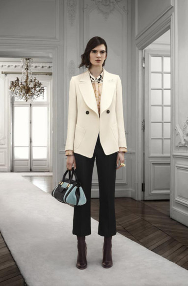 chloé fashion lookbook jacket