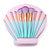 10pcs Makeup Brushes Set Shell Bag Eyeliner Eyeshadow Angle Shading Highlight Eyebrow Flat Brush