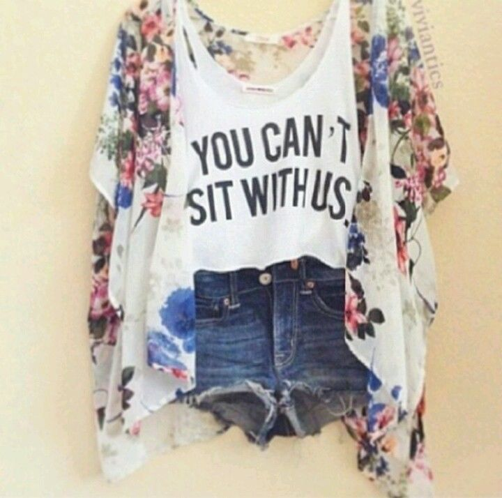 "Brand New Sold Out Brandy Melville ""You Can'T Sit with US"" Graphic Tank Top 