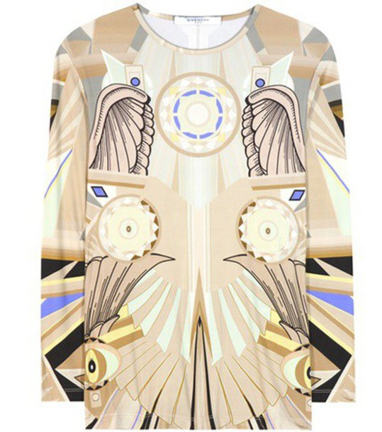 Givenchy Stretch T-shirt in beige / beige