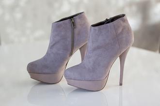 shoes heels high heels beige grey light grey