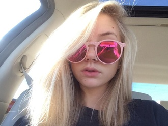 sunglasses youtuber justice pirate pink maddi bragg