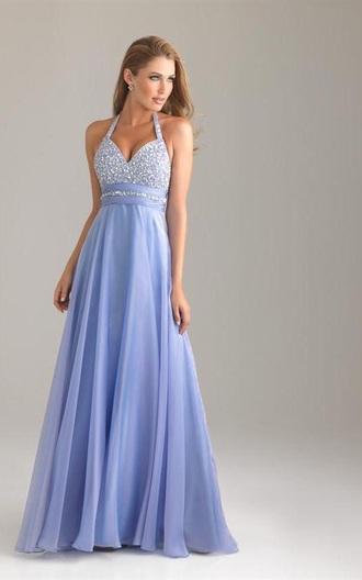dress prom purple silver sparkle floor lenth lavender halter floor lenth dresses