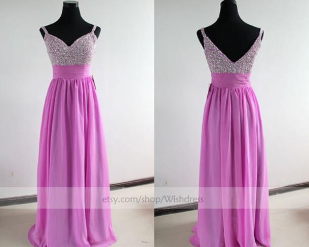 lilac prom dress lilac dress long prom dress prom dress sequins long prom dresses cheap prom dress long v neck prom dresses formal dress dress