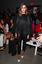 pants,olivia palermo,blogger,fashion week