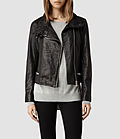 Allsaints: women's leather jackets