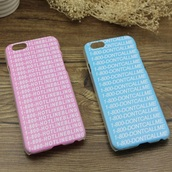 phone cover,blue,pink,hotline bling