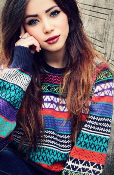 orange cute turquoise style blue sweater winter sweater winter outfits purple winter/autumn fall sweater fall