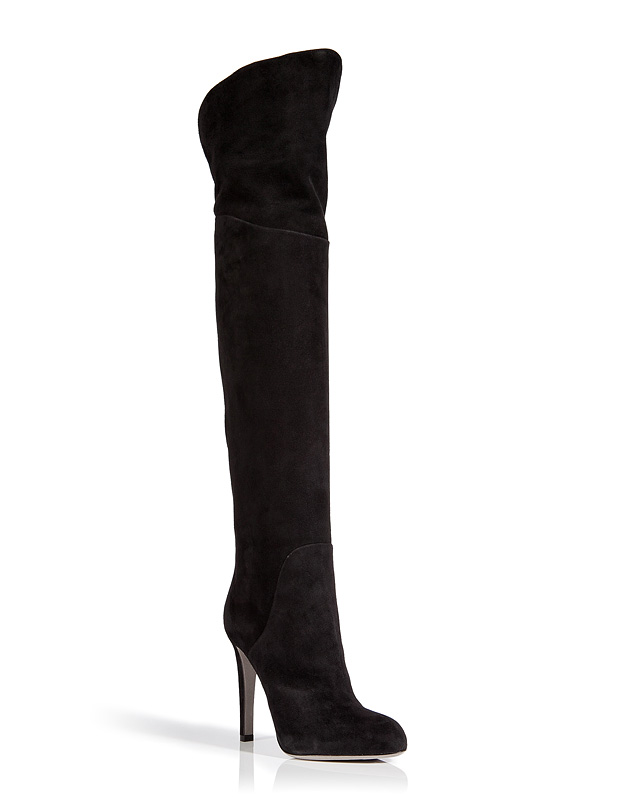 Over-the-Knee Boots in Black from SERGIO ROSSI | Luxury fashion