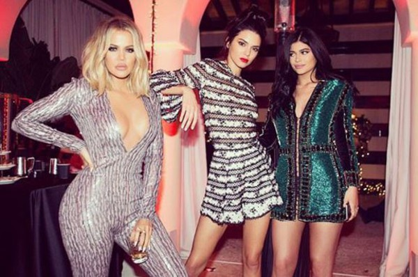 jumpsuit sequins kardashians keeping up with the kardashians kylie jenner kendall and kylie jenner kendall jenner khloe kardashian christmas instagram dress party dress party romper
