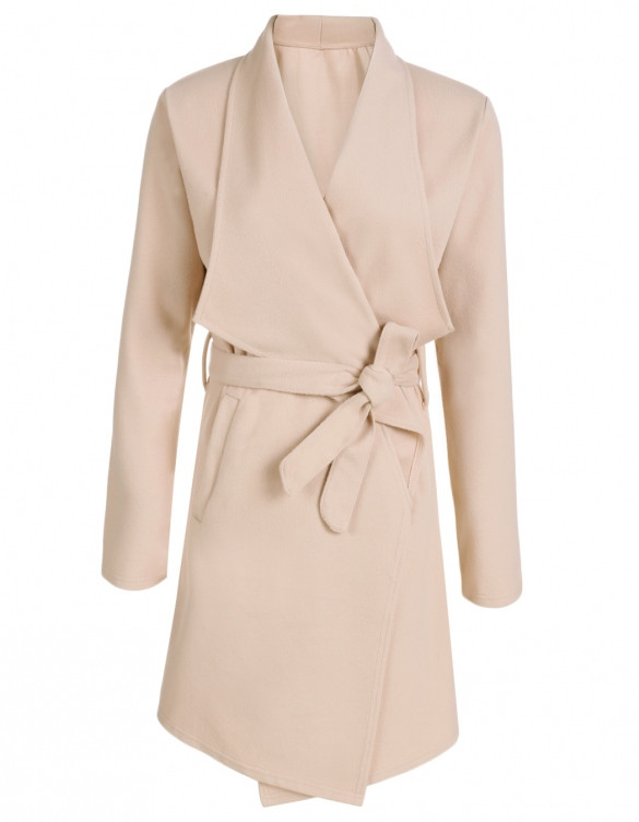 Camel Waterfall Coat – Outfit Made