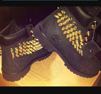 shoes black timberlands urban belt