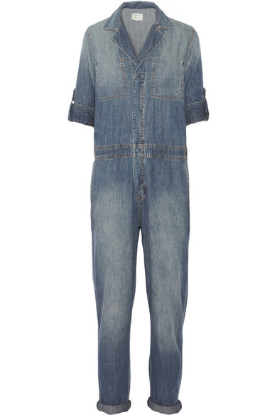 Current/Elliott | The Mechanic denim jumpsuit | NET-A-PORTER.COM