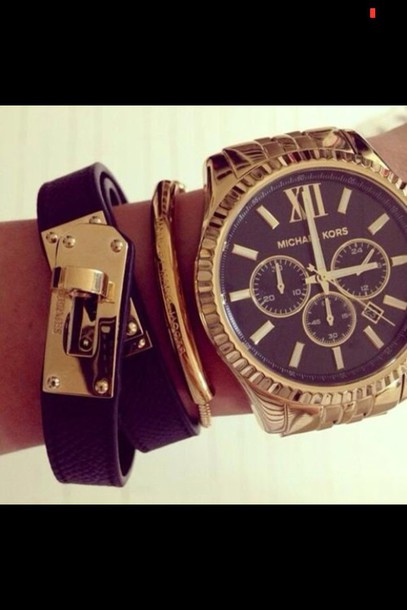 jewels micheal kors watch gold