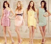 pastel,dress,jewels,shoes