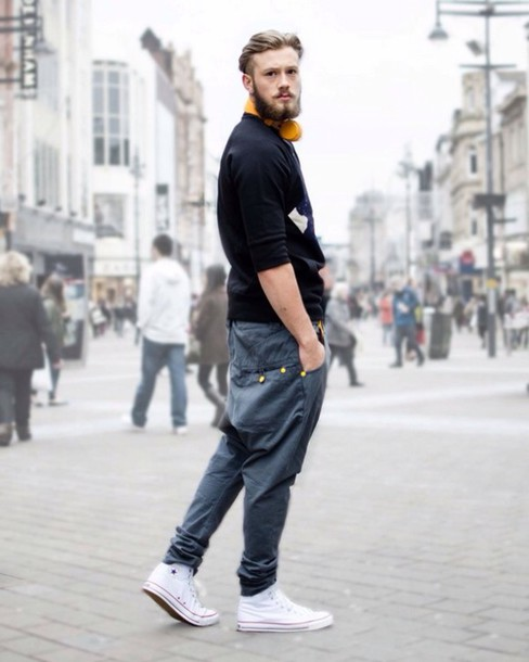 Men With White Jeans Converse For Pinterest
