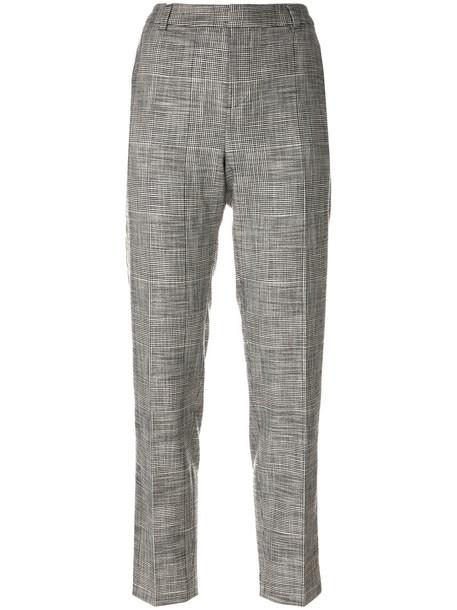 ESSENTIEL ANTWERP cropped women spandex cotton grey pants