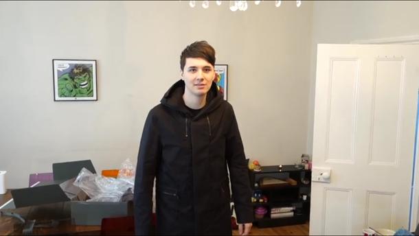 coat dan howells wardrobe dan howells closet dan howell daniel howell