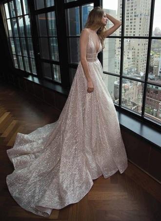 dress pale pink dress