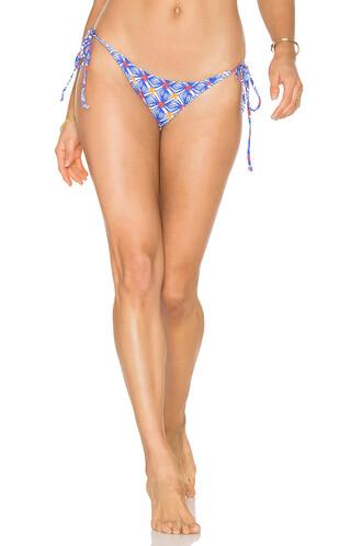 bikini string bikini blue swimwear