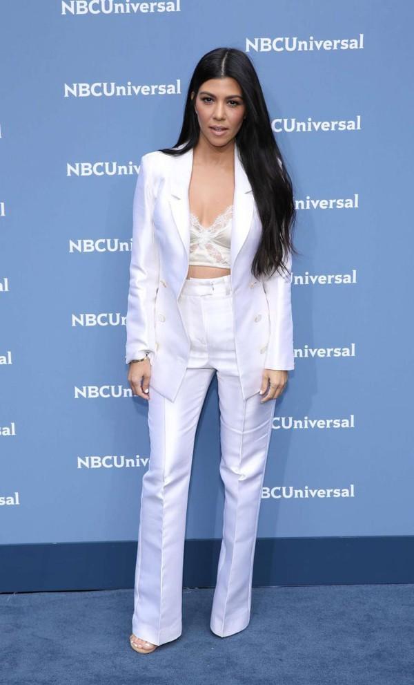 Underwear Top Bra Bralette Kourtney Kardashian White
