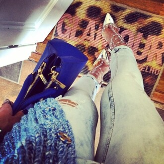 jeans pants jewels shoes high heels bag boyfriend jeans ripped jeans high waisted jeans denim fashion fashion coolture urban outfitters