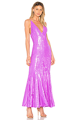 X by NBD Chiquitita Gown in Lavender from Revolve.com