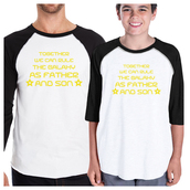 t-shirt,youth clothing,white t-shirt,father and son t shirts,cute matching clothes,graphic tee,baseball tee,star wars tee