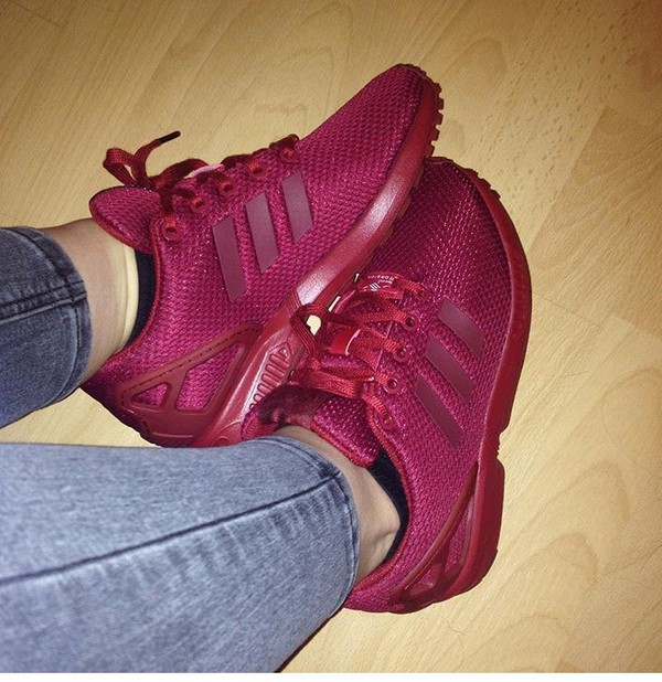 new style b6f3c 412af shoes addidas  flux  wine