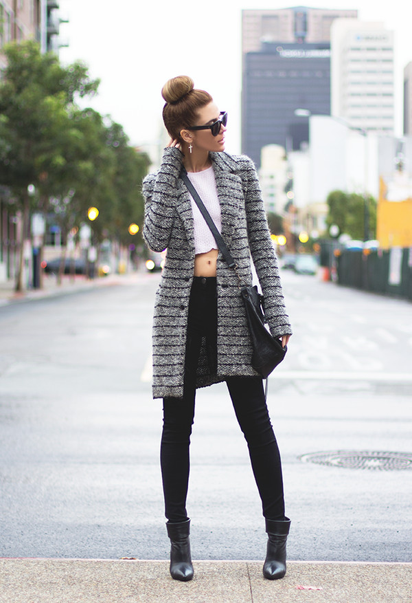 sunglasses sweater jacket bag shoes