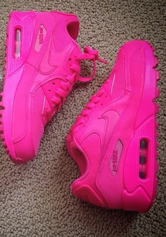 shoes nike hot pink air max