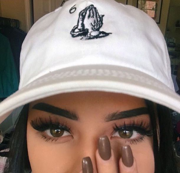 50b55242563 cap drake clothing drake urban tumblr tumblr outfit tumblr girl nail polish  dope hat white hands
