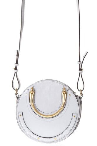 bag leather bag leather grey