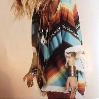 shirt billabong multicolor dress boho