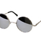 Today only $6.99 - round mirror lennon glasses spring hinge silver