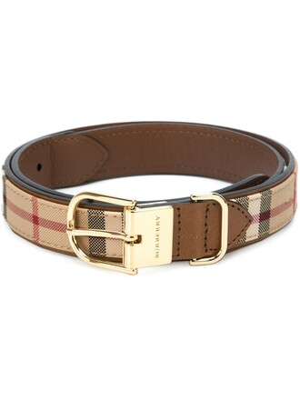 women belt leather nude