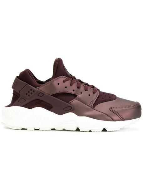 Nike women sneakers purple pink neoprene shoes